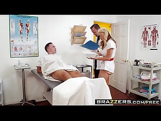 Brazzers - Doctor Adventures - Cum For Nurse Sarah scene starring Sarah Vandella and Keiran Lee