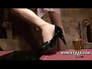 KOREA1818.COM - HOT Korean Bar Girl FUCKED