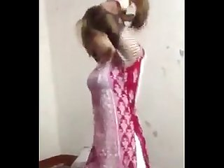 Kashmir girl dance