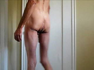 Wild shaved cock and ass in my penis and fisted and fucked in my ass