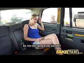 Fake taxi naughty hot blonde fucked hard after being caught red handed