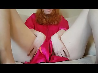 Edging and showing my big clit