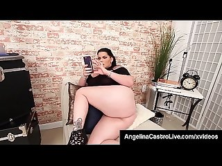 Cuban BBW Princess Angelina Castro Sucks Landlord's Big Dick