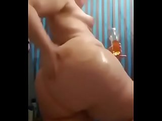 white wife with massive big ass teasing videsi video