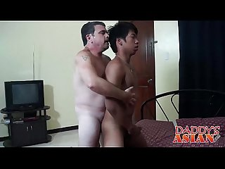 Daddy loves to suck and fuck hard a hot asian twink Hermis