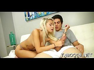 Sexy Teen strokes lucky Teacher weenie