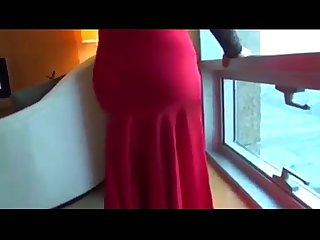 Hot aunty in hotel with boyfriend