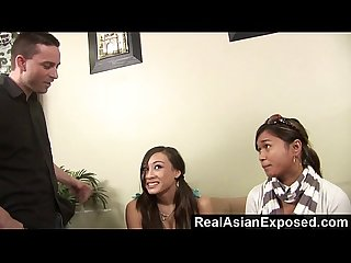 Realasianexposed asian babysitter gives torrid sex to keep her job