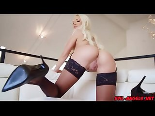 Elsa Jeans kisses Micks asshole and climbs on top of him so he can fuck her cunt from below