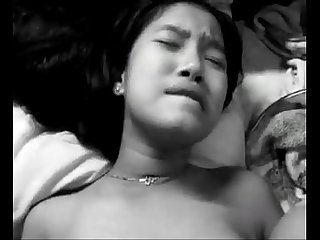 Myanmar beauty girl having sex