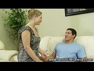 Real step mom slut gets hot
