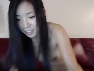 [AmateurWebcamBabes.com] - Hot Wasted Asian Teen on Cam
