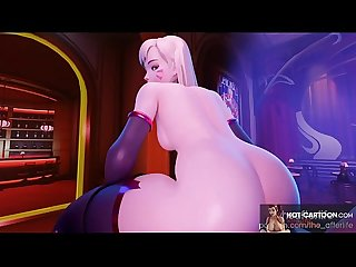 Cartoon Porn Apex League of Legends young 3d rough fuck