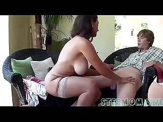 Busty stepmom stepson affair stepmom period live