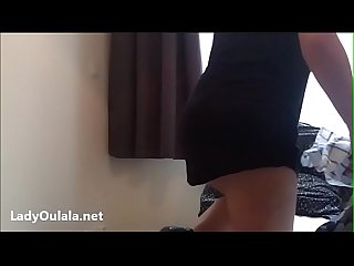 French Maid Upskirt No Panties
