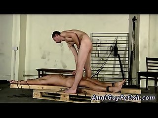 Gay twink bondage tgp made to suck his first cock