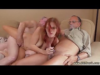 Stepfriend s daughter old enough for anal frankie and the gang take a