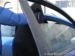 hitchhiker forced to sex with 2 guys (russian)