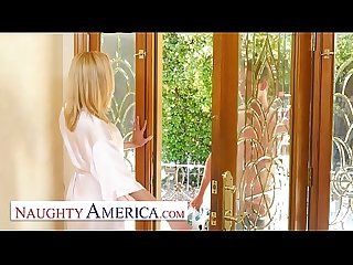 Naughty America - Briana Banks Fucks her Son's Best Friend