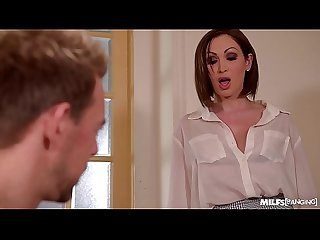 Milfs rachele richey yasmin scott banged hard in the office