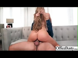 (Nicole Aniston) Huge Round Boobs Girl Banged Hard In Office clip-23