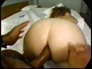 This Horny and Nasty BBW MILF gets Hard DP & Rough