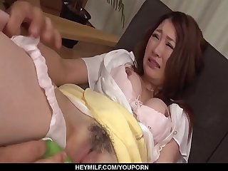 Naked milf, Airi Mizusawa, insane XXX porn play - More at Japanesemamas com