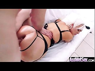 (jenna ivory) Slut Girl With Big Wet Olied Butt Get Anal video-15