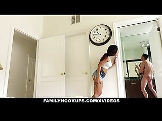 FamilyHookups- Creeping On My Hot Stepbro While He Masturbates