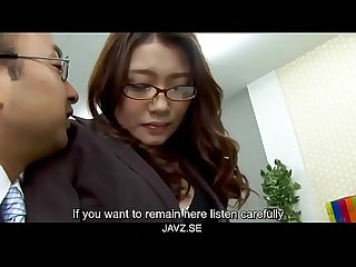 Subtitles boss fucked her japanese secretary ibuki from javz period se