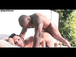 Lovely babe gets anally screwed