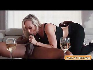 Blondie milf brandi love blowjob a bbc