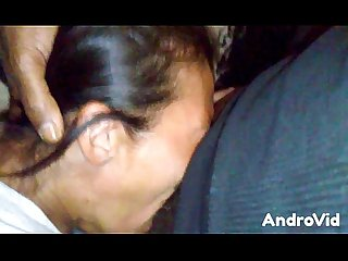 Cumshot facial throatfuck mature asian bitch nutted on her face
