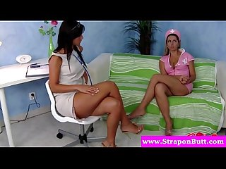 Strapon cfnm nurses pegging
