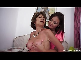 Old woman katala and anina silk