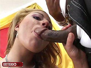 Primeira cena no porno de In�s Ventura - arrega�ada pelo Jota