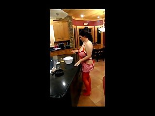 I fuck my naughty pussy on the kitchen counter free preview