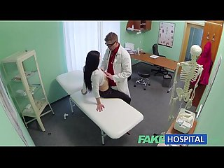 Fake Hospital sexy patients moans of pleasure lowers blood pressure problem