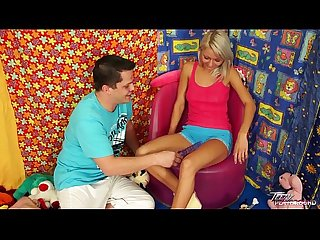 Teenyplayground Superhot blonde teen get fucked by older man with big cock