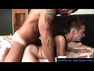 Hot gay guys converting their straight roomates video 13