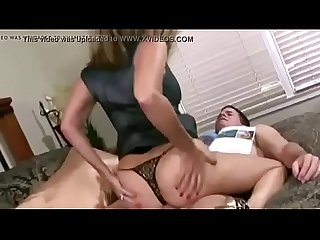 Mommy makes sure son�s cock is hard xincestporn.com