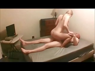 Amateur hot blonde getting fucked