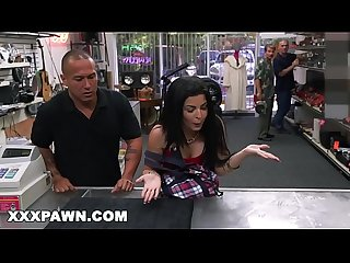 XXX PAWN - Feisty Cuban Chick Estefania Gets Her TV Broken And She Is Pissed