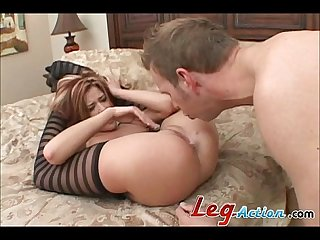 Trisha rey long legged slut gives hot fucking