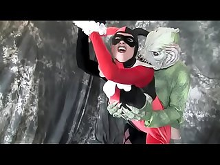 Big Boob Harley Quinn Gets Forced By Monster
