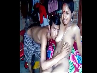 Indian village real devar fucks his own cute busty bhabi with large nipples