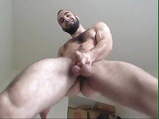 Sacudo se exibindo na webcam