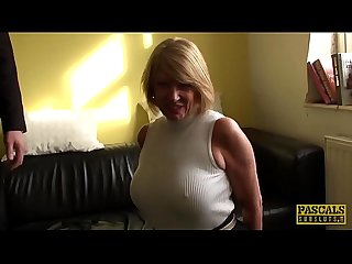 PASCALSSUBSLUTS - English MILF cuffed and pussy destroyed