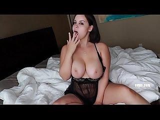 gordinha lisinha strip e masturbação