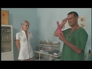Young european nurse masturbating and fucking at work by Xxx period gsociall period com